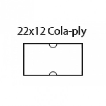 22x12 Cola-Ply, Biele