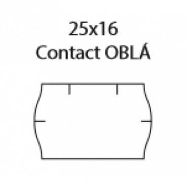 25x16 Contact, Oblé, Biele