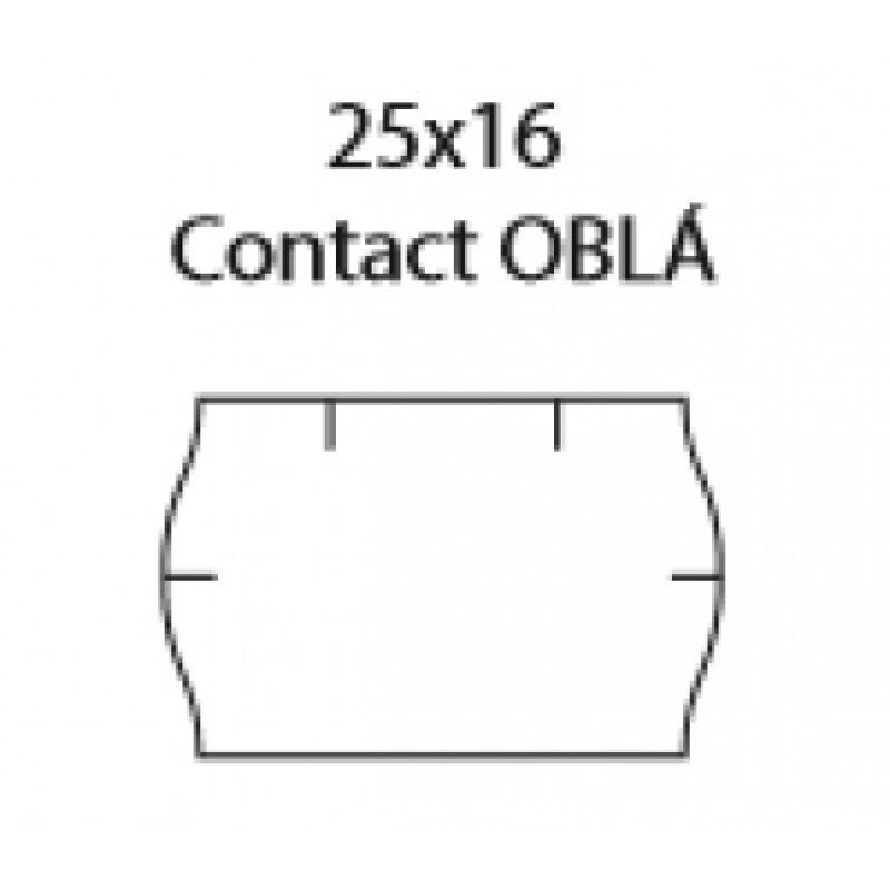 25x16 Contact, Oblé, Oranžové