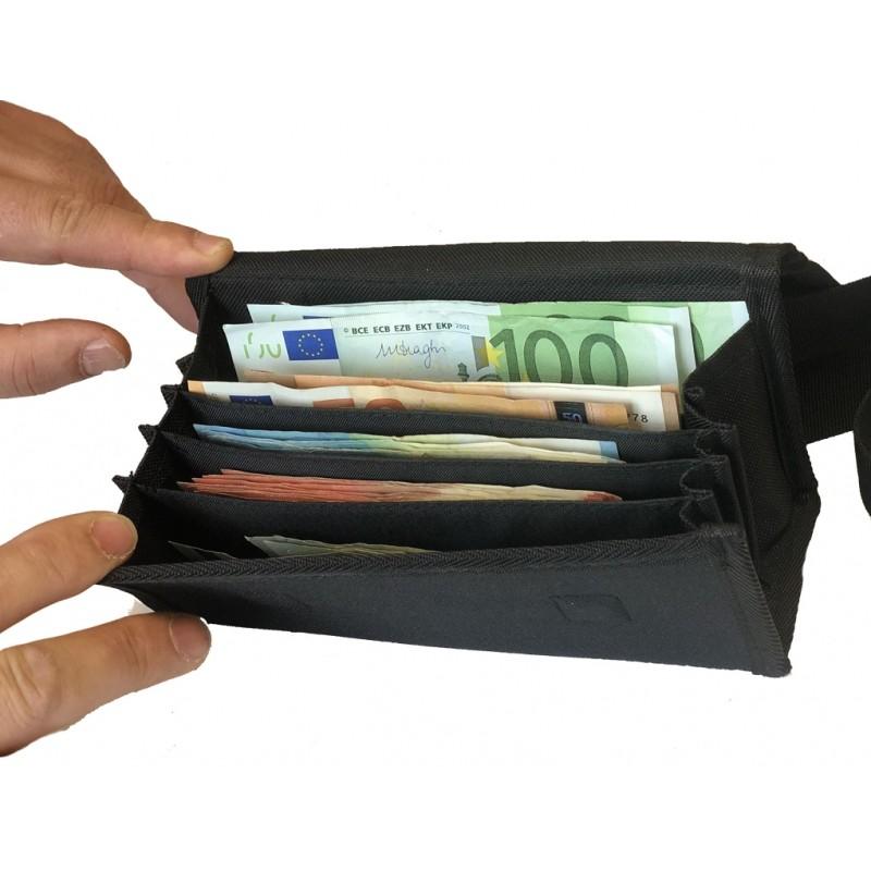 Čašnícka peňaženka bez MINCOVNÍKA - TEXTÍLNÁ