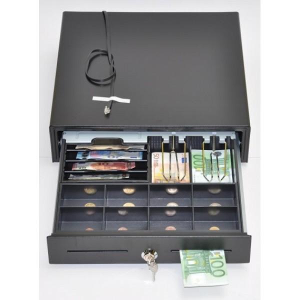Peňažná zásuvka K-VK4102 6B/8M čierna
